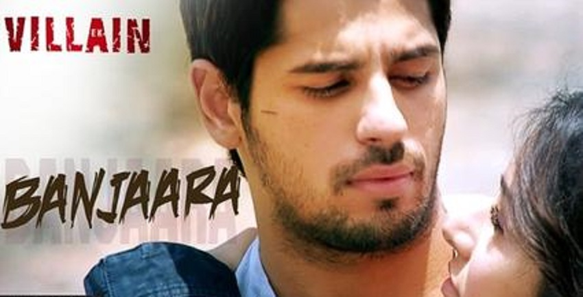 banjaara ek villain guitar chords